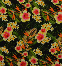 Lycra Hawai Tropic Flowers