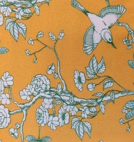 Coupon 140x150 cm Ecovero woven Cherry-Blossom