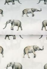 Stenzo Digital tricot olifant wit