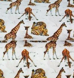 Stenzo Digital tricot giraf wit