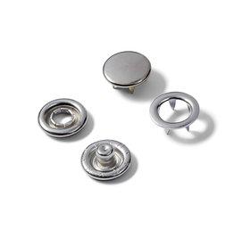 Navulling jersey drukknopen zilver 11mm