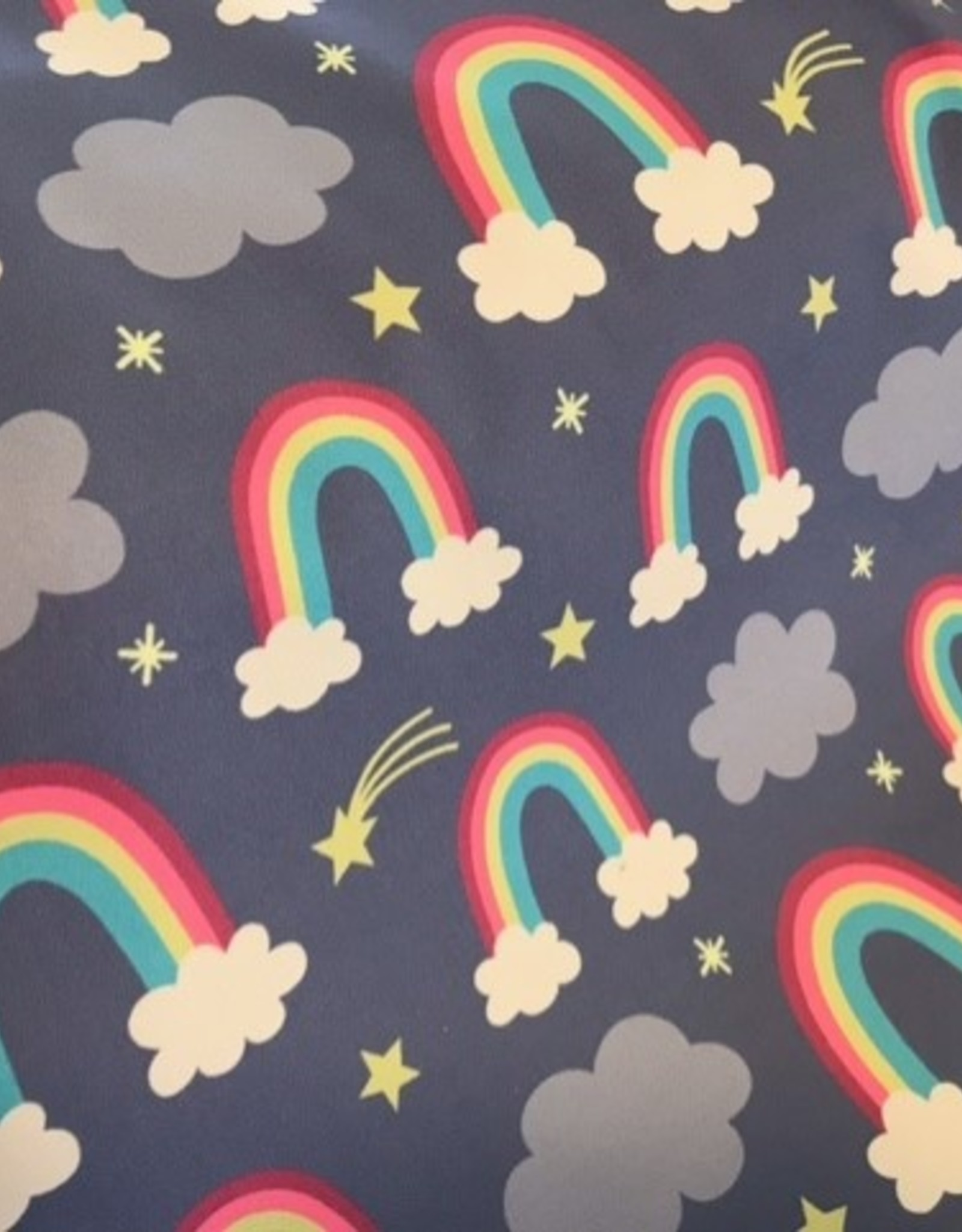 Softshell regenbogen Fantasie  lila