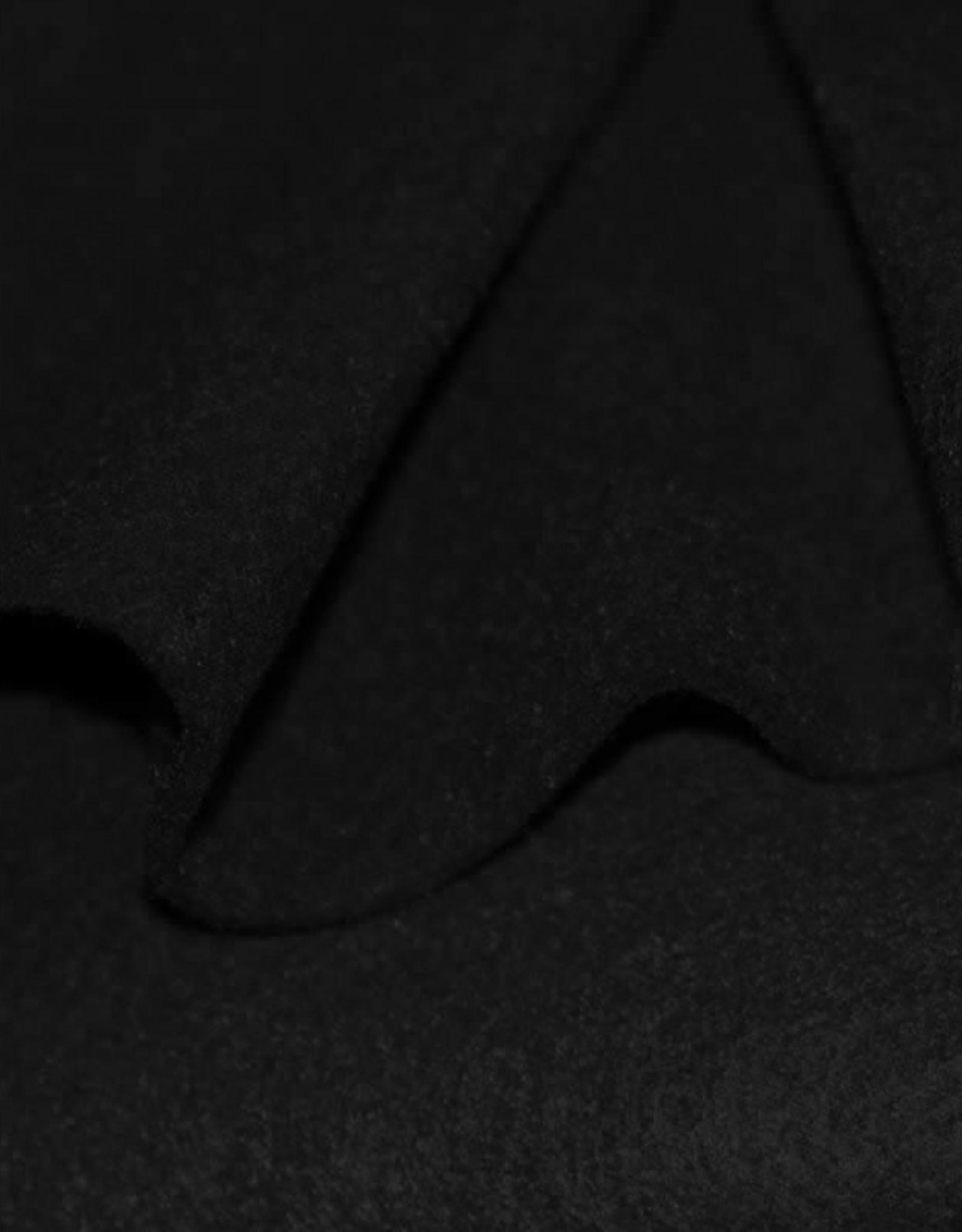 Vilt 3mm zwart op 90cm breed