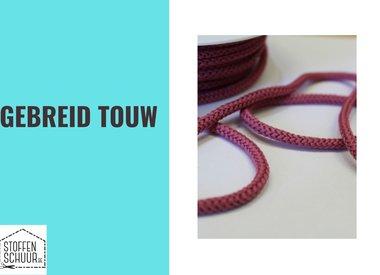 Gebreid touw