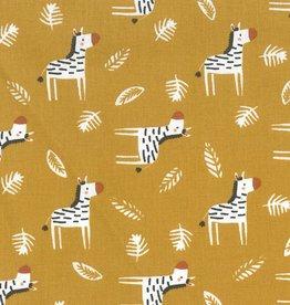 Domotex Katoen Gizou oker zebra