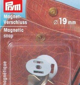 Prym Prym  - magneetsluiting 19mm oudmessing- 416 482