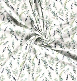 Digitale tricot met Eucalyptus enzo  ecru