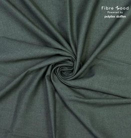 Fibre Mood Organic bamboe/recycled met lichte stretch oudgroen mélange- FM Noelle