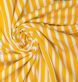 Fibre Mood Viscose crepe stripes yellow - FM Aila / Grace