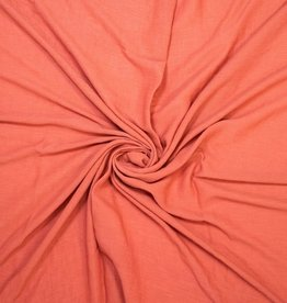 Fibre Mood Viscose ribbel wrinkel pleated carotte roest orange - FM Bloom / Aila