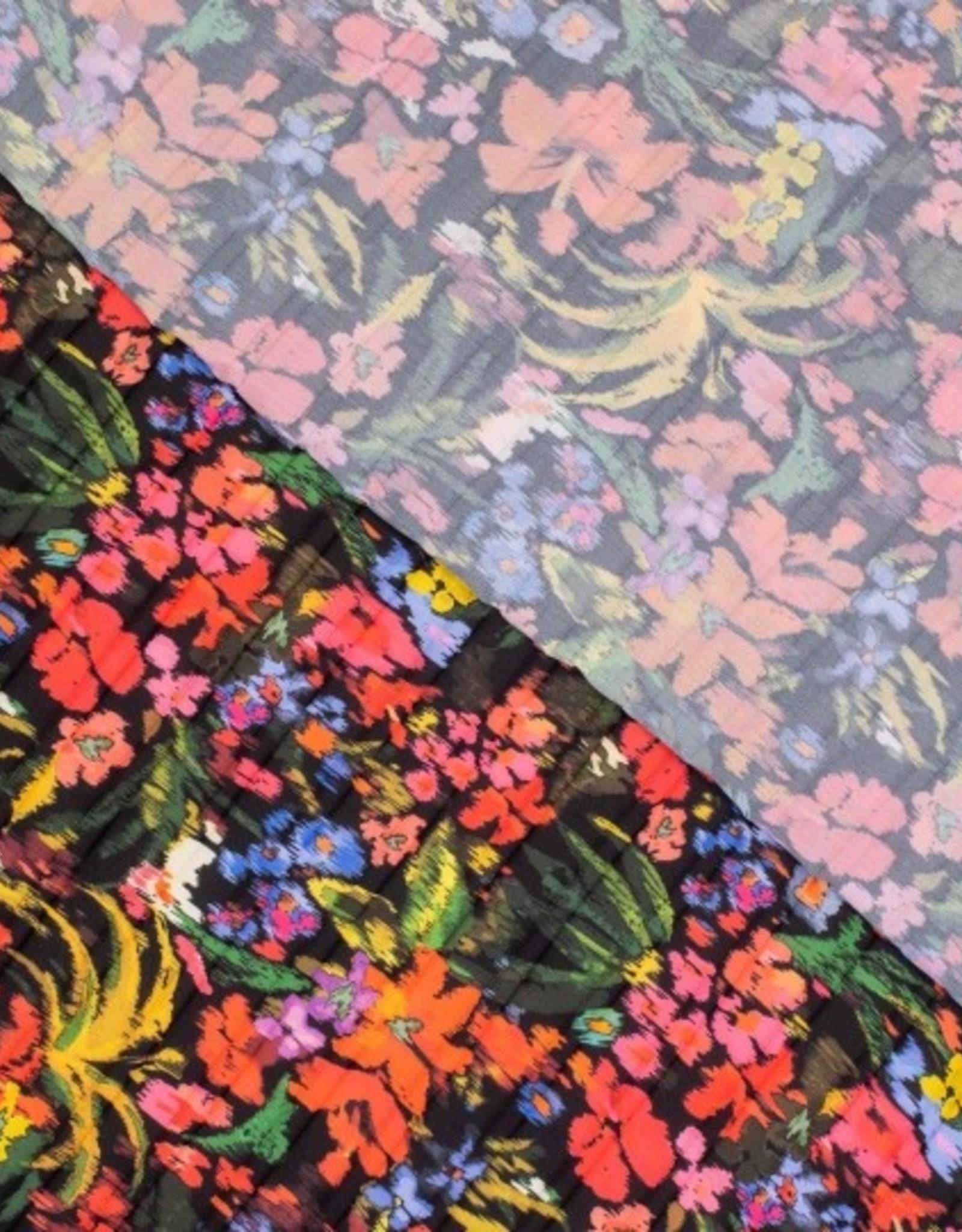 Fibre Mood Plissee grote bloemenprint - FM Bloom / Fiona