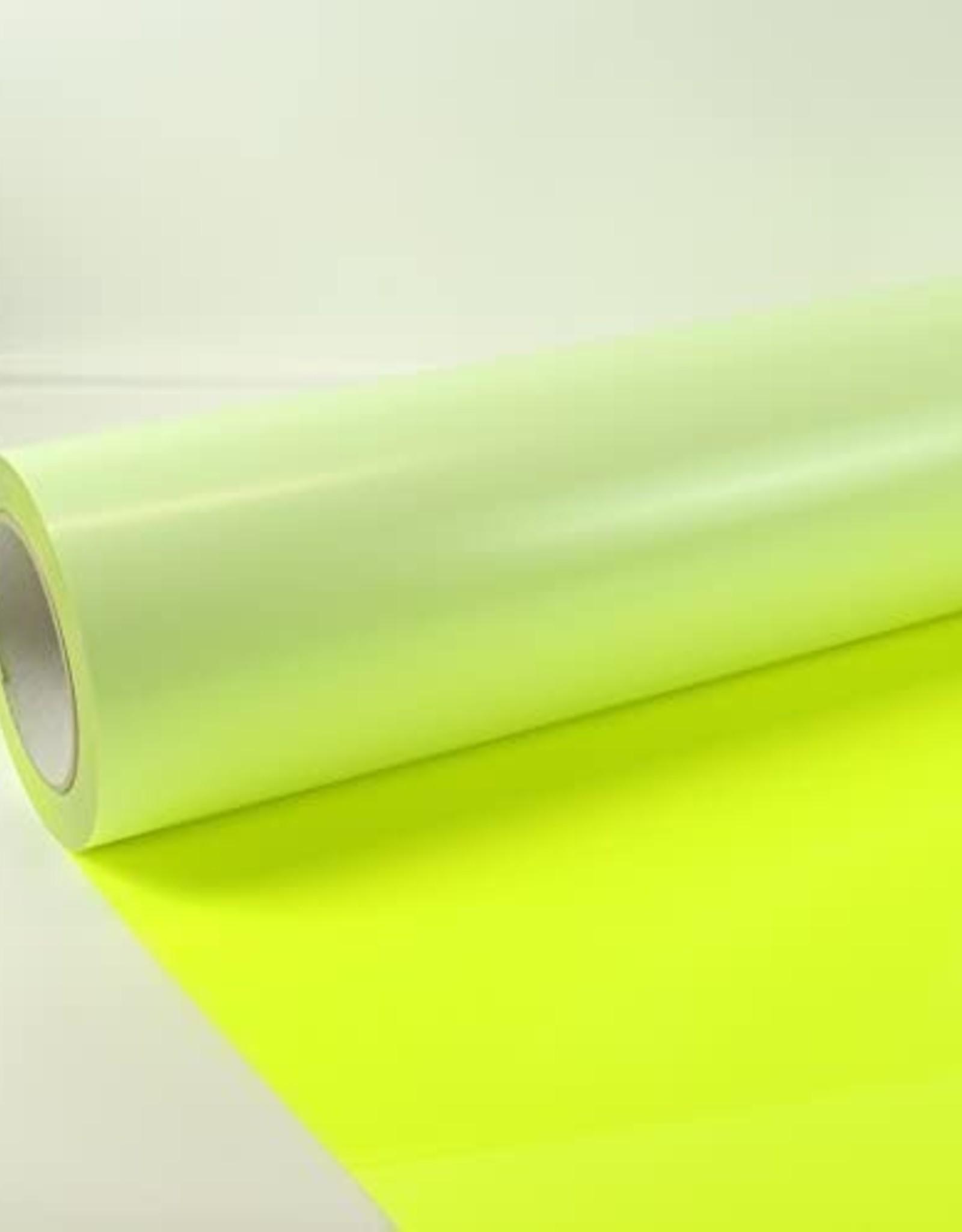 Siser Flexfolie  Neon fluor  geel 22 per 10cm