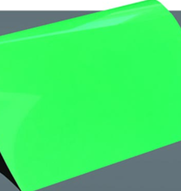 Siser Flexfolie  Neon fluor groen 26 per 10cm