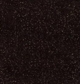 Siser Flexfolie  glitter zwart 19  per 10cm
