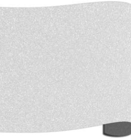 Siser Flexfolie  glitter wit 01  per 10cm