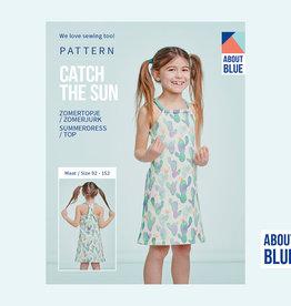 About Blue Fabrics Catch the sun kids zomertopje/zomerjurk