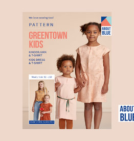 About Blue Fabrics Greentown Kids kinderjurk & T-shirt
