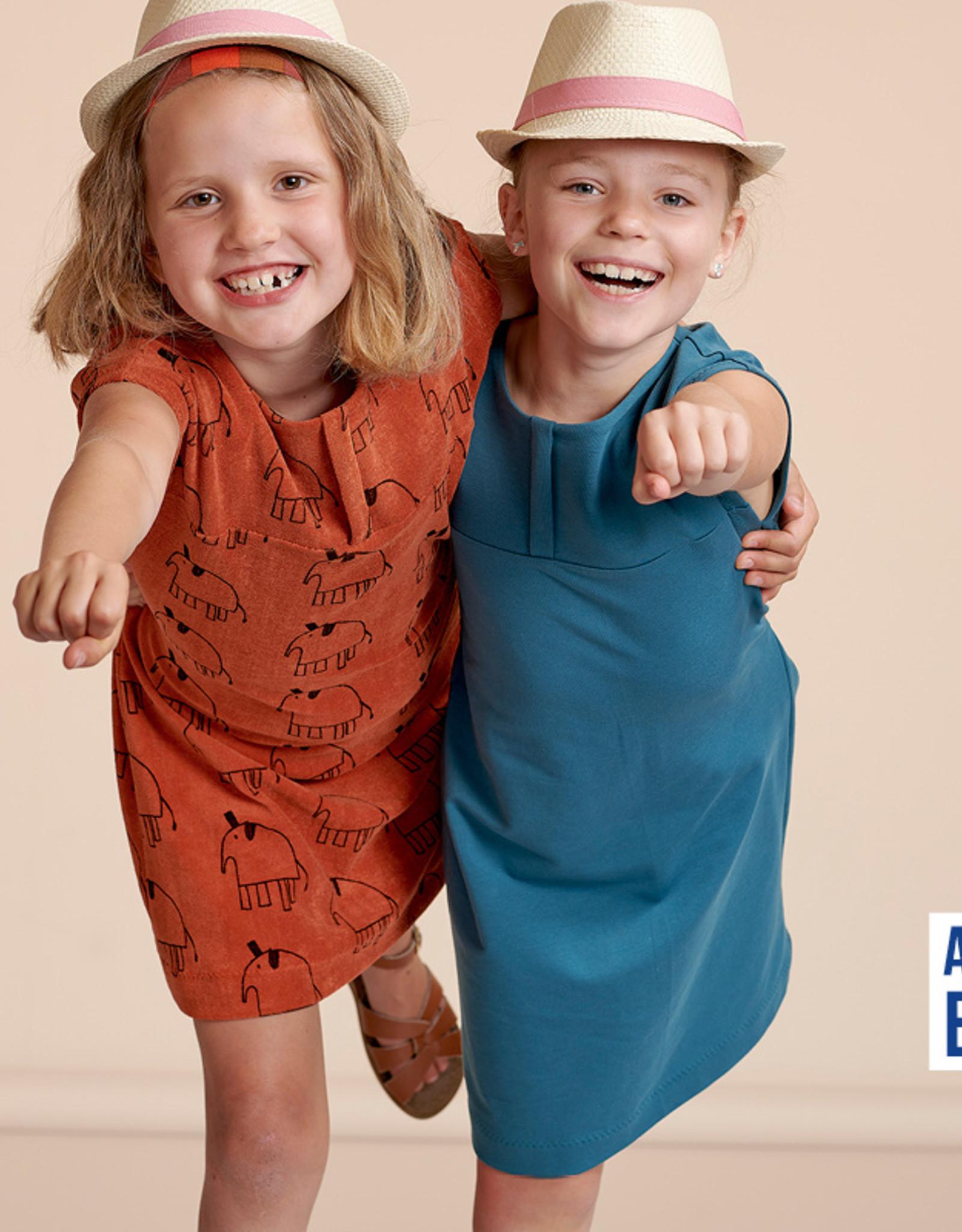 About Blue Fabrics Greentown Kids kinderjurk & T-shirt
