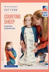 About Blue Fabrics Counting Sheep slaapzak