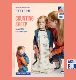 About Blue Fabrics Counting Sheep slaapzak