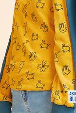 About Blue Fabrics Good Vibes Only - Smilicons Sponge