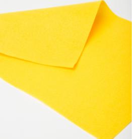 Vilt 1mm geel per vel 20x30cm NIEUW