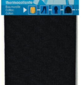 Prym prym - verstelstuk katoen zwart 12x45 cm - 929 400