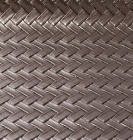 Imitatieleder visgraat brons 50cm x 140cm