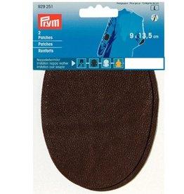 Prym Prym -  patches leder  9x13.5cm bruin - 929 251