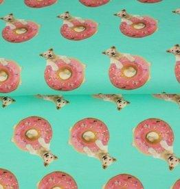 Stenzo Digital tricot lion in donut