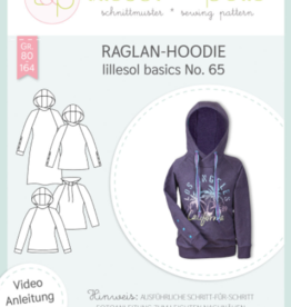 Raglan hoodie kids No 65