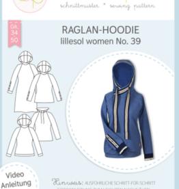 Raglan Hoodie vrouwen No 39