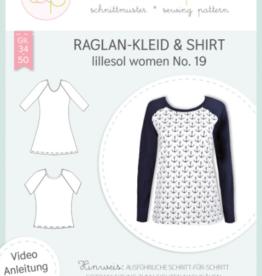 Raglankleed en T-shirt vrouwen No 19
