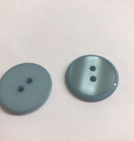 Knoop 15mm combi mat/glanzend 2gaats lichtblauw