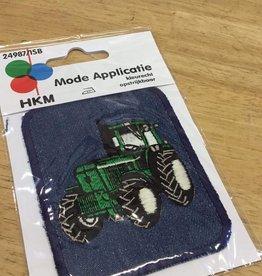 HKM kniepatch jeans rechthoek tractor (per 1)