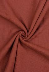 Poppy Double Gauze blush rouge