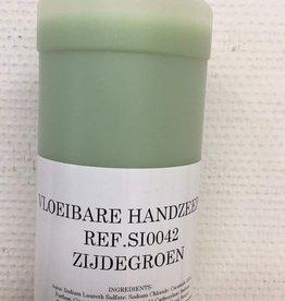 Vloeibare handzeep zijdegroen - per 50ml (voor vulling glazen flessen)