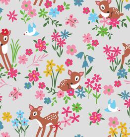Jersey hertje in bloemenweide
