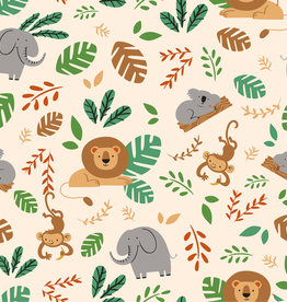 Jersey animals of the jungle beige