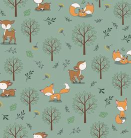 Jersey hertje &vosje in het bos mint