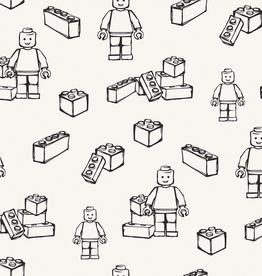 Zwart-wit tricot Lego!