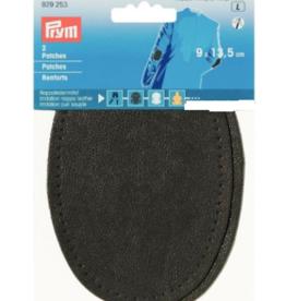 Prym Prym -  patches leder  9x13.5cm grijs - 929 253