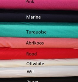 Toptex Coupon Bamboe tricot abrikoos 40x150cm
