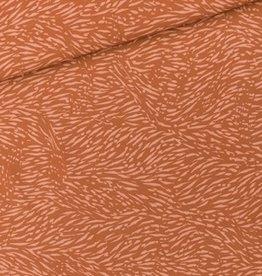 See You At Six Coupon 30x140cm Flecks - M - Viscose Rayon - Amber Brown - R