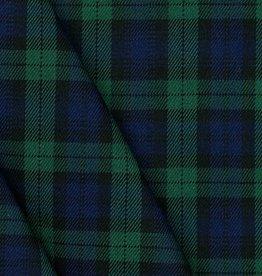 Poppy TARTAN CHECK - BLACK/BLUE/GREEN/SMALL