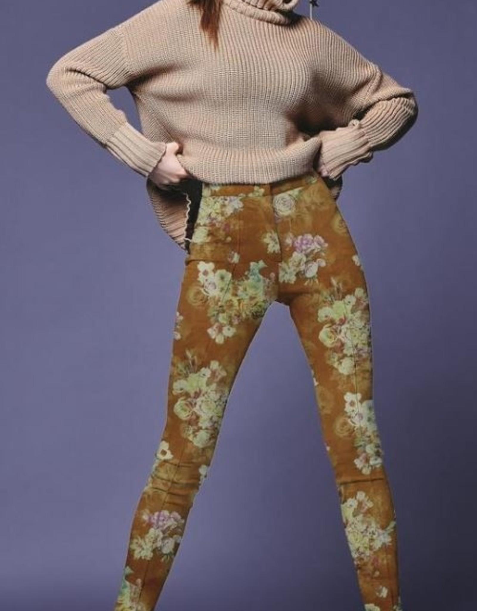Poppy SCUBA SUEDE - COGNAC