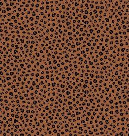 Poppy Poplin Animal Skin Rust