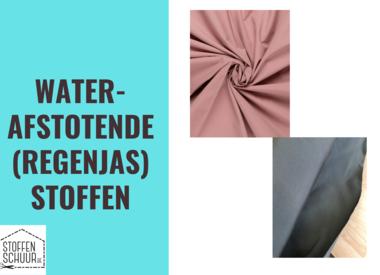 waterafstotende (regenjas) stoffen