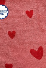 About Blue Fabrics Sea You - LOVE U ROSE (Sponge/Terry Cloth)