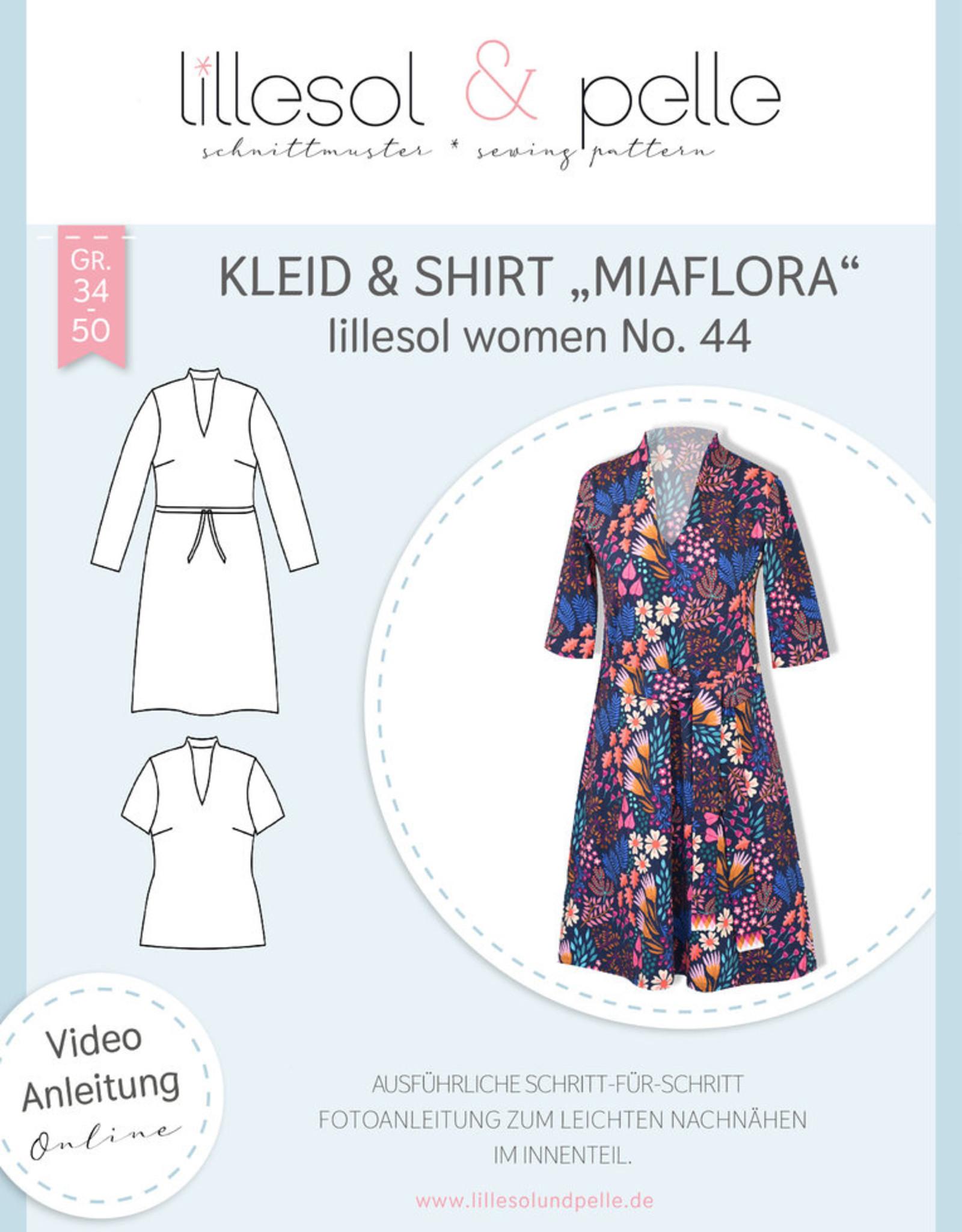 Kleed en T-shirt vrouwen Miaflora No 44